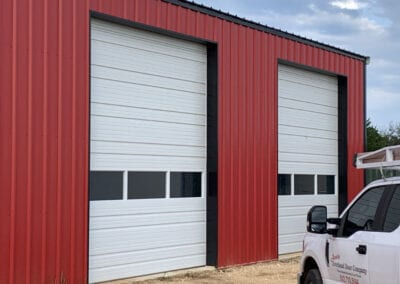 commercial garage doors windows